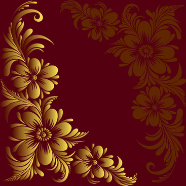 ornate floral decorative border corner