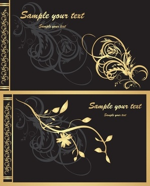 ornate gold pattern vector