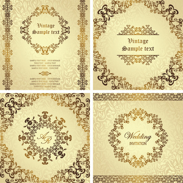 golden invitation letter free vector download 5 680 free vector