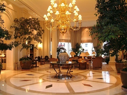 ornate hotel lobby picture 1