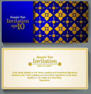 Free invitation card design free vector download 12893 free vector ornate invitation cards design vector stopboris Images