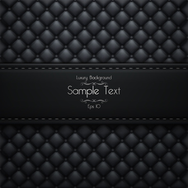 ornate pattern leather background vector