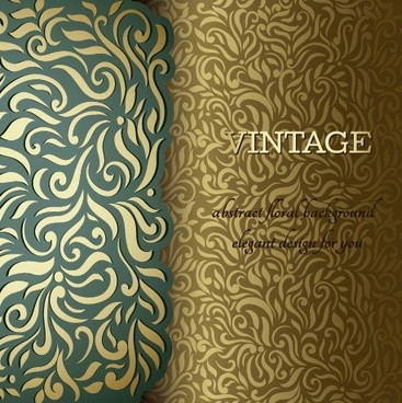ornate pattern vintage background graphics
