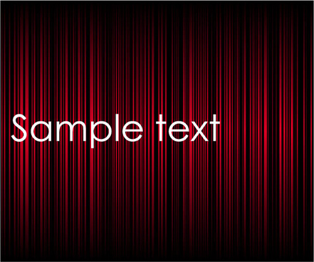 ornate red curtain vector background