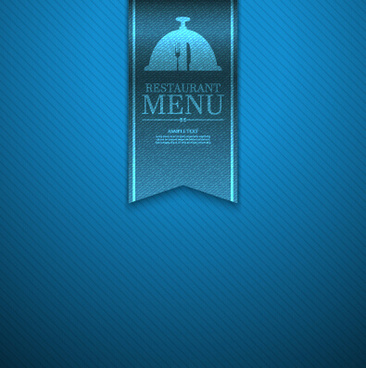 ornate restaurant menu background art