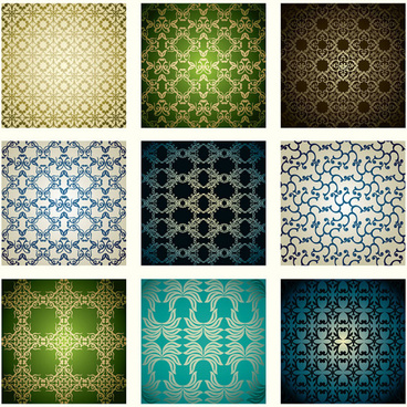 ornate seamless pattern vector