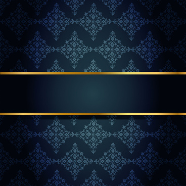 ornate vip gold background art vector