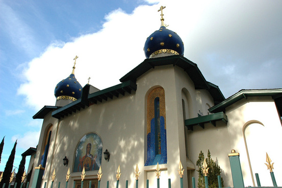 orthodox church of all russian saints mary and jesus burlingame california usa