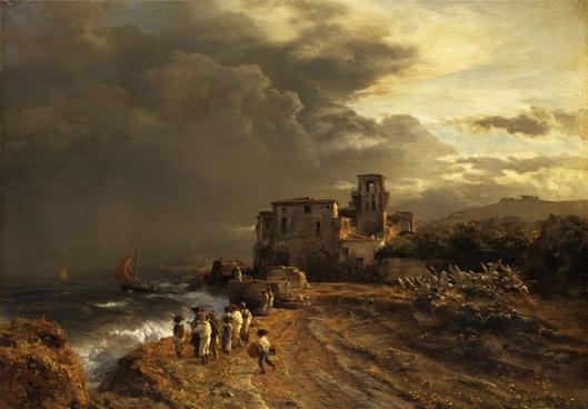 oswald achenbach painting art