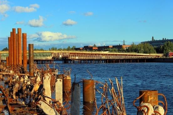 oulu finland bridge
