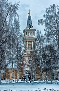 oulu finland cathedral