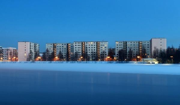 oulu finland skyline