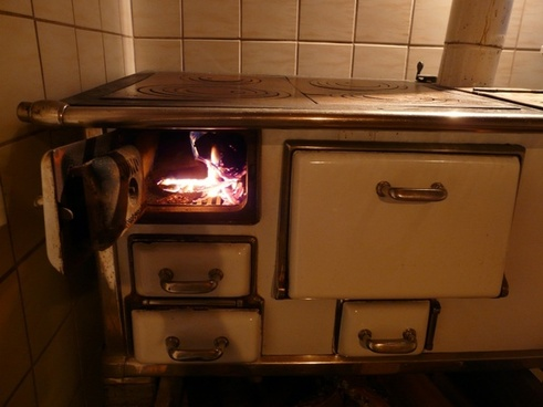 oven stove fire