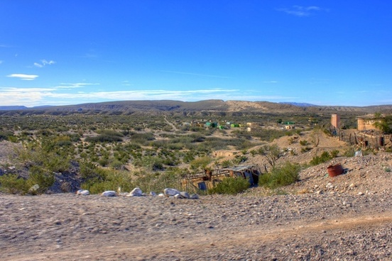 overlooking the town at boquilla del carmen coahuila mexico