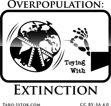 overpopulation toying with extinction