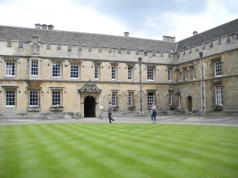 oxford college christchurch college university