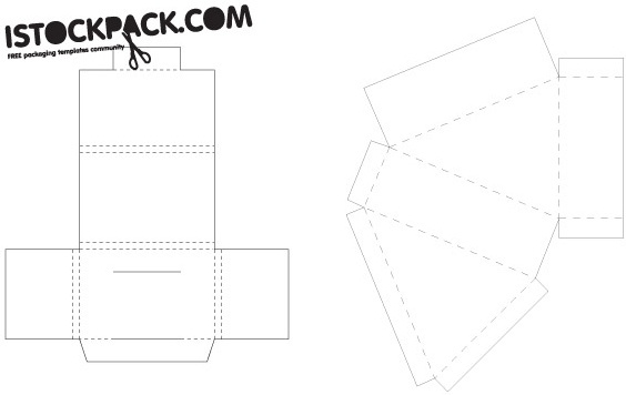 Milk Carton Packaging Template Free Vector Download 15729