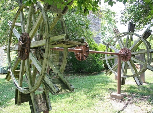 paddle wheel riverboat gear