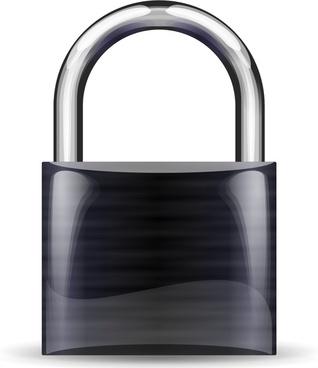 padlock black