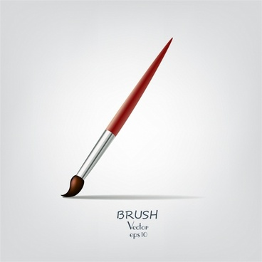 Paint brush for drawing or makeup
