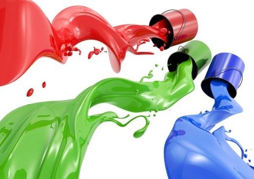 paint pigments definition picture