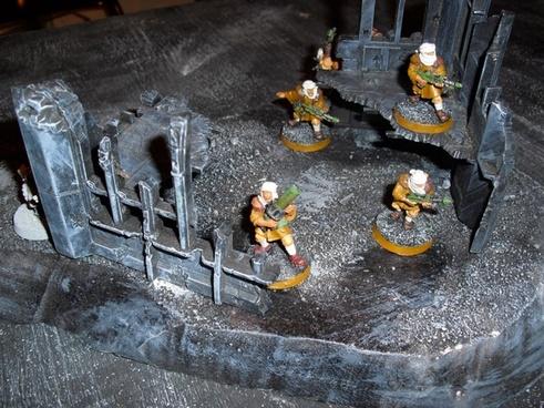 painted 40k miniatures