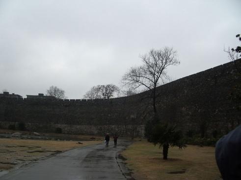 palace wall
