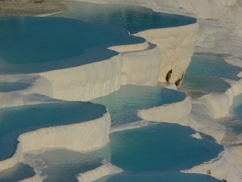 pamukkale lime sinter terrace pool