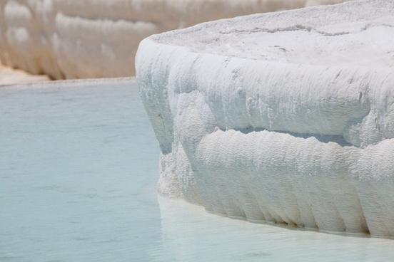 pamukkale travertine detail