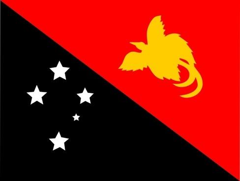 Papaua New Guinea clip art