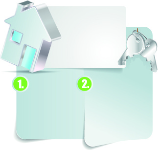 paper and key vector background