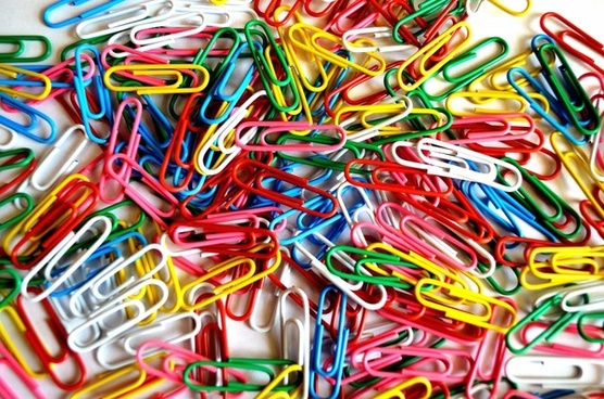 paper clips background