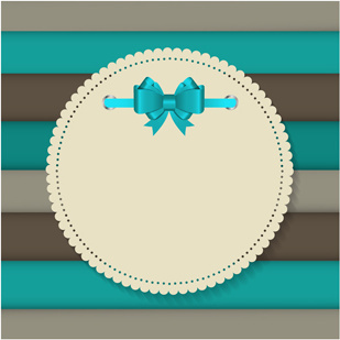 paper lace card vector