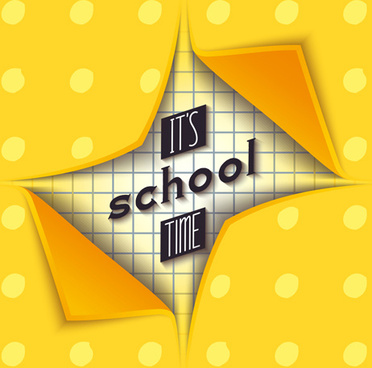 paper school vector background