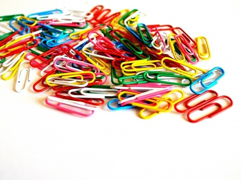 paperclip background