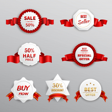 paper sale labels