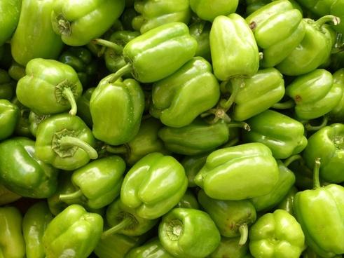 paprika green vegetables