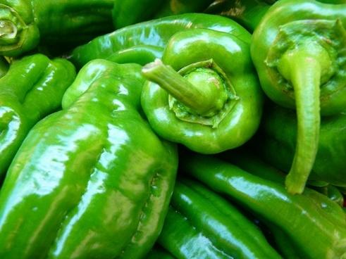 paprika vegetables green