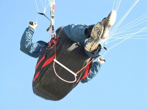 paraglide sky denmark