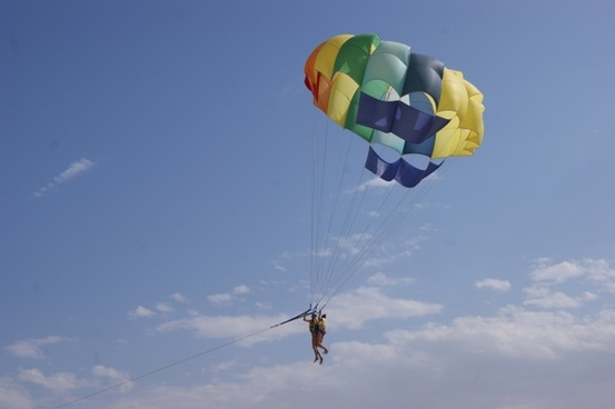 paragliding leisure holiday