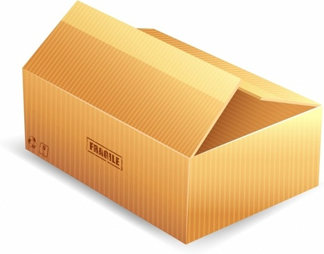 Parcel packaging box