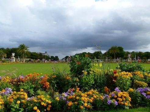 paris france jardin du luxembourg