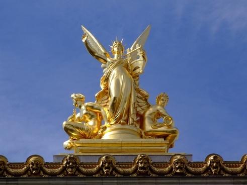 paris france sculpture