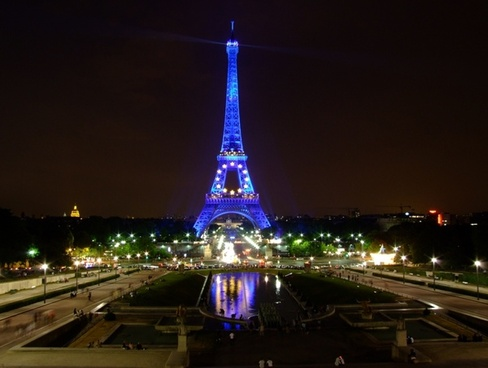 paris france sky