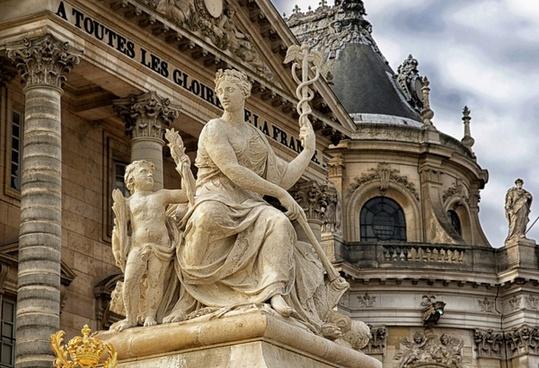 paris france versailles palace