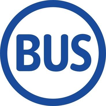 Paris Logo Bus clip art