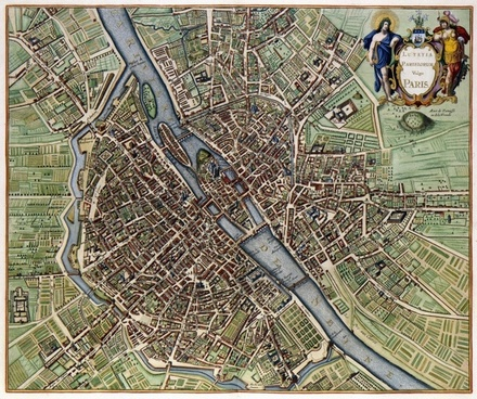 paris map city