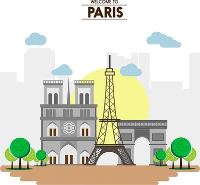paris promotion banner reputable destinations collection