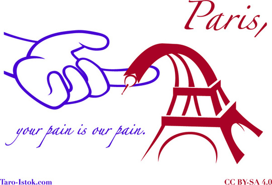 paris your pain is our pain