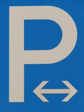 park parking traffic sign